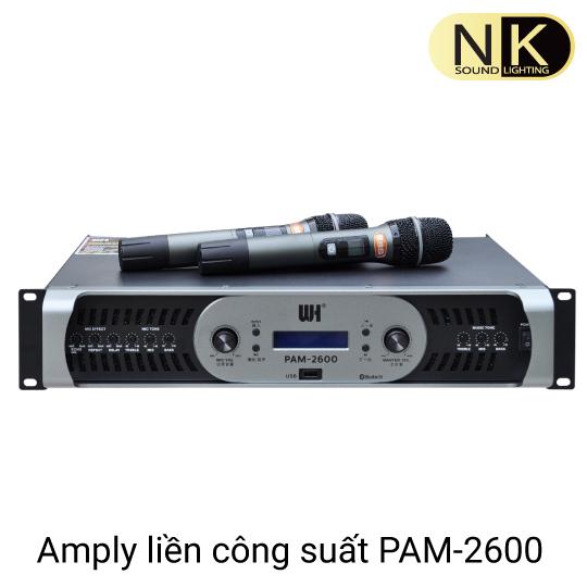amply liền công suất pam 2600