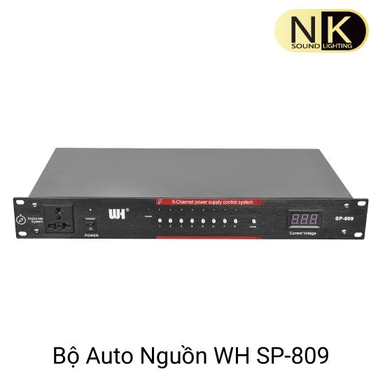 bộ quản lý nguồn điện âm thanh wh sp 809