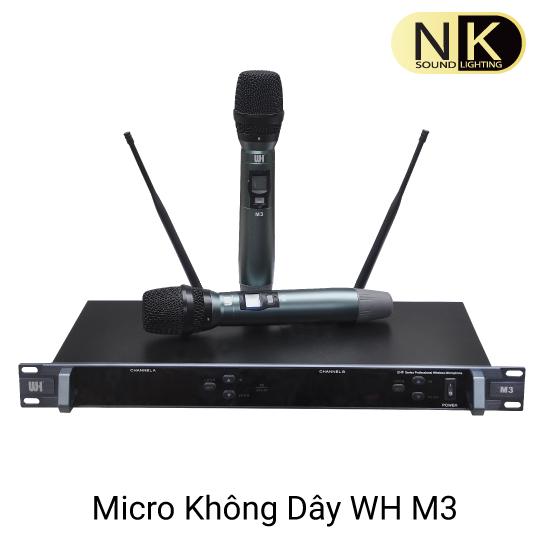 Micro Karaoke chuyên nghiệp WH M3