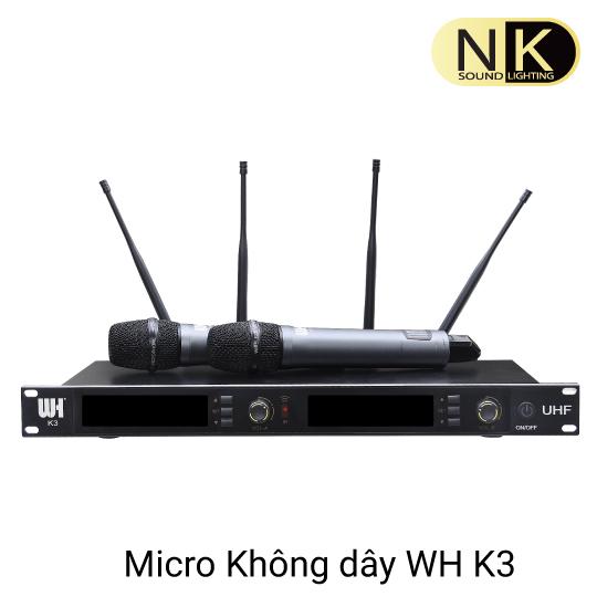 Micro Không Dây WH K3