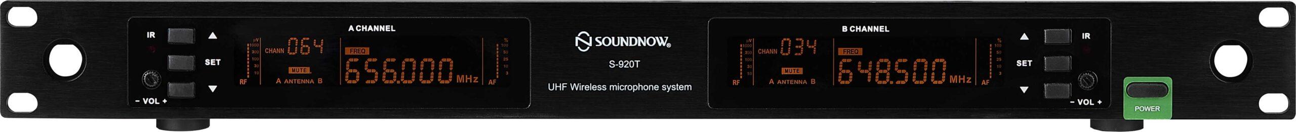 mặt trước Micro cao cấp soundnow