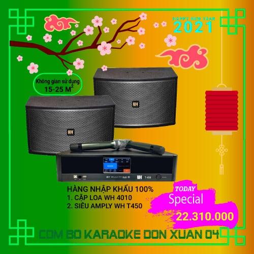 dàn karaoke giá rẻ wh