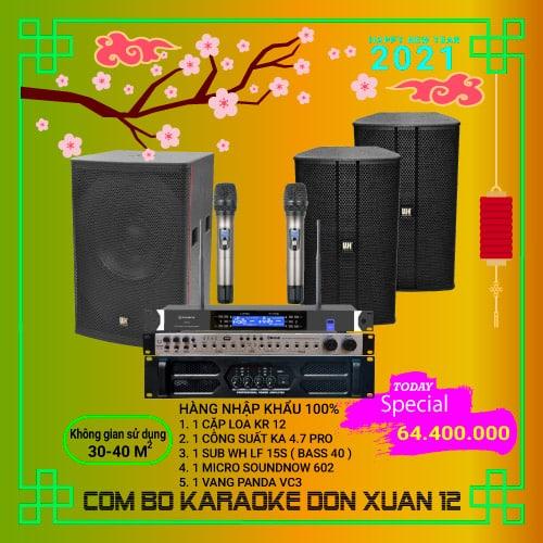 Combo Karaoke Gia đình wh